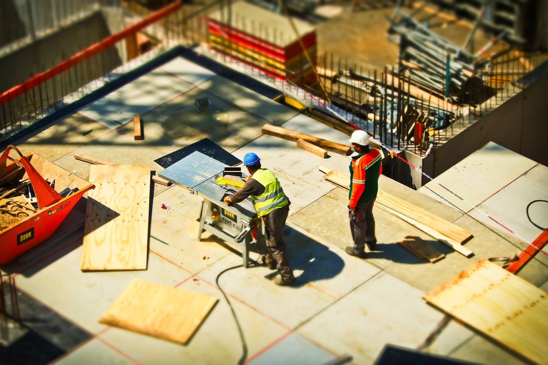 Top 10 safety risks in construction